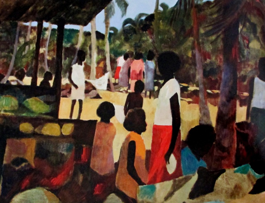 Ray Crooke - islanders, Australian artists, is it art?
