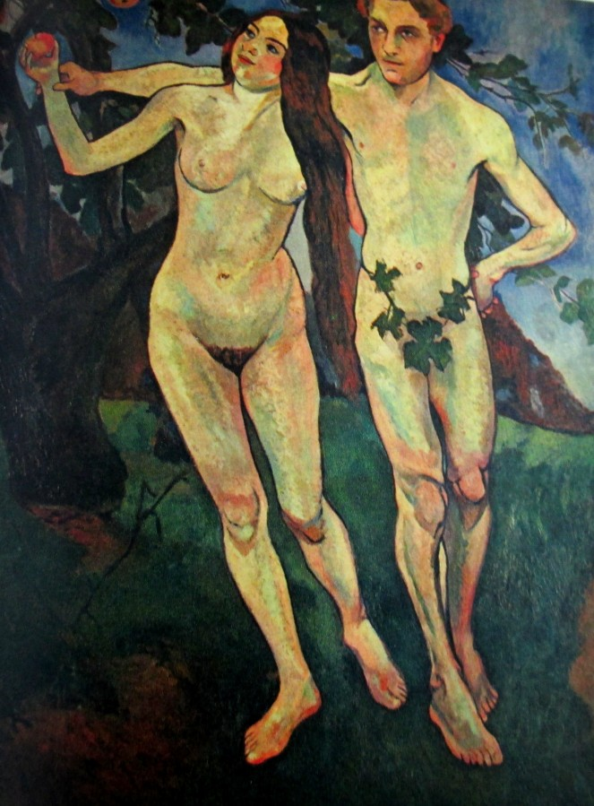 Suzanne Valadon - Adam & Eve, artworks, is it art?