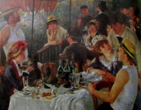 Renoir - Luncheon of the boating party, is it art?