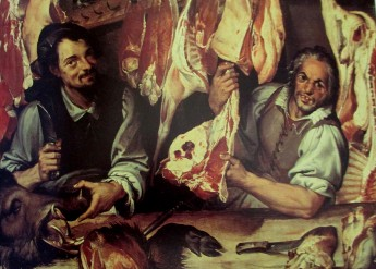 Bartolomeo Passerotti - butcher stall, art, is it art?