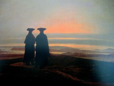 Caspar David Friedrich | Sunset and the Brothers, artworks, is it art?