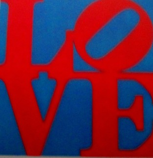 Robert Indiana - Love, art, pop art, is it art?