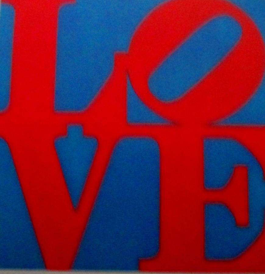 Robert Indiana - Love, art, pop art, is it art?