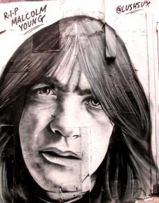 AC/DC Lane | Lushsux | Malcolm Young