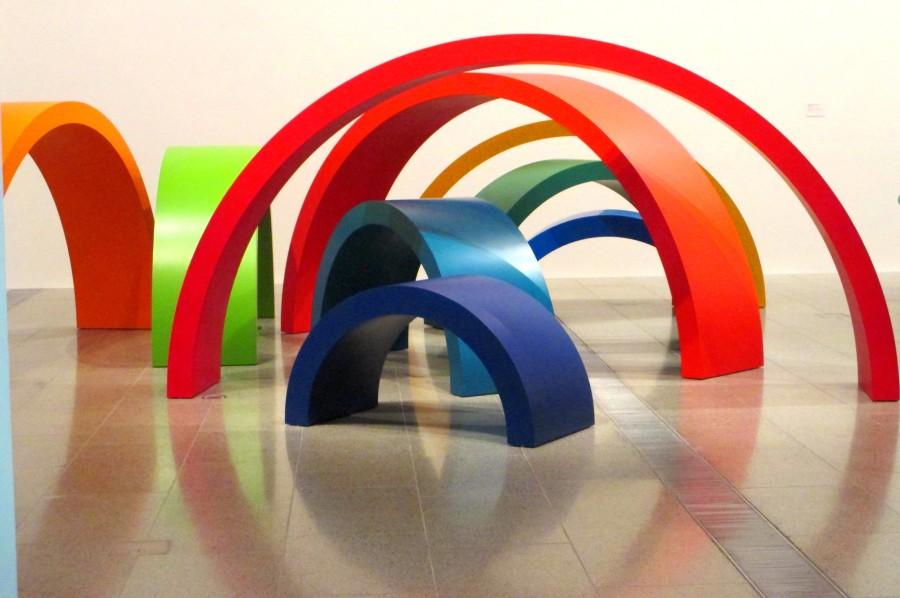 Emily Floyd installation, is it art?