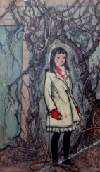 Gloria Freedman - The Secret Garden book cover, Penguin books, Puffin books, cover art, illustrations, is it art?