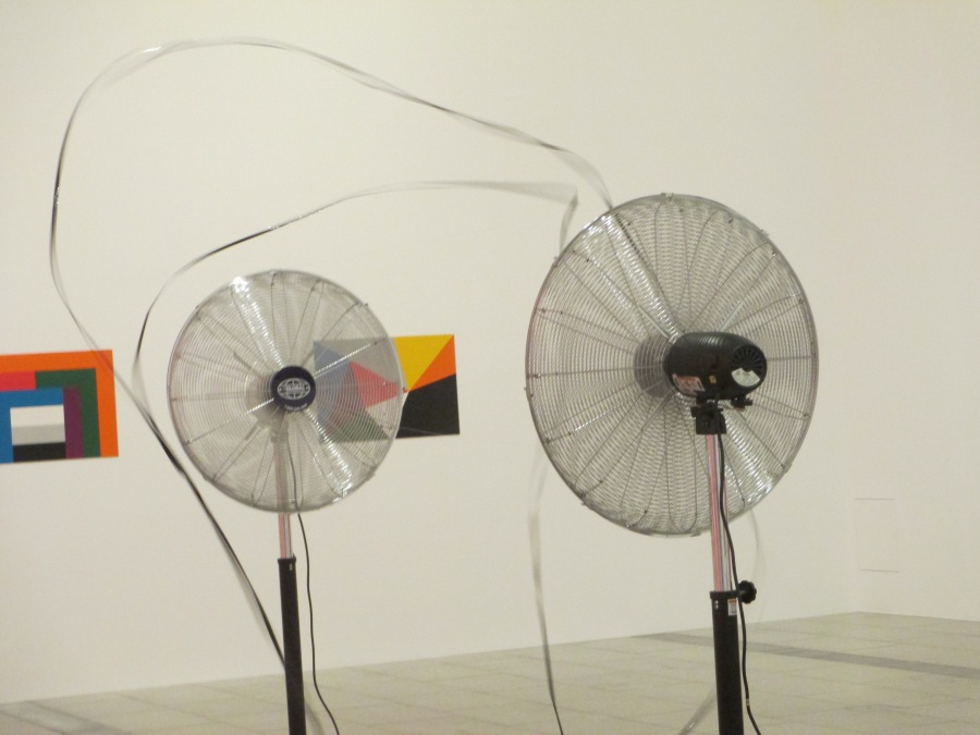Zilvinas Kempinas - Double O, installation, fans, is it art?
