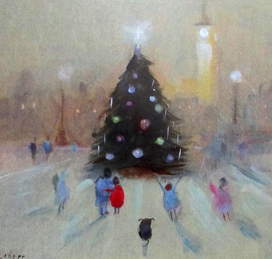 Janet Ledger - the Christmas tree, art, is it art?