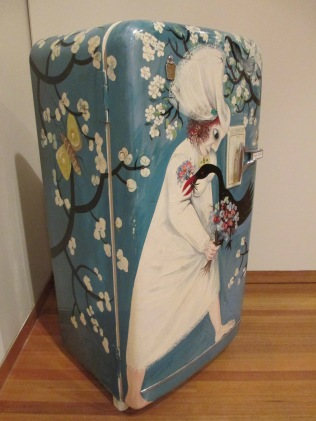 Arthur Boyd, Leda & the Swan, Kelvinator Fridge, fridge art, Bendigo Art Gallery, Australian art, is it art?