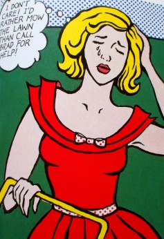 Roy Lichtenstein, pop art, is it art?