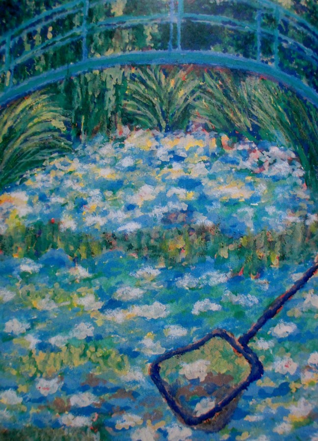 Sally Swain | Claude Monet | Pond Parody