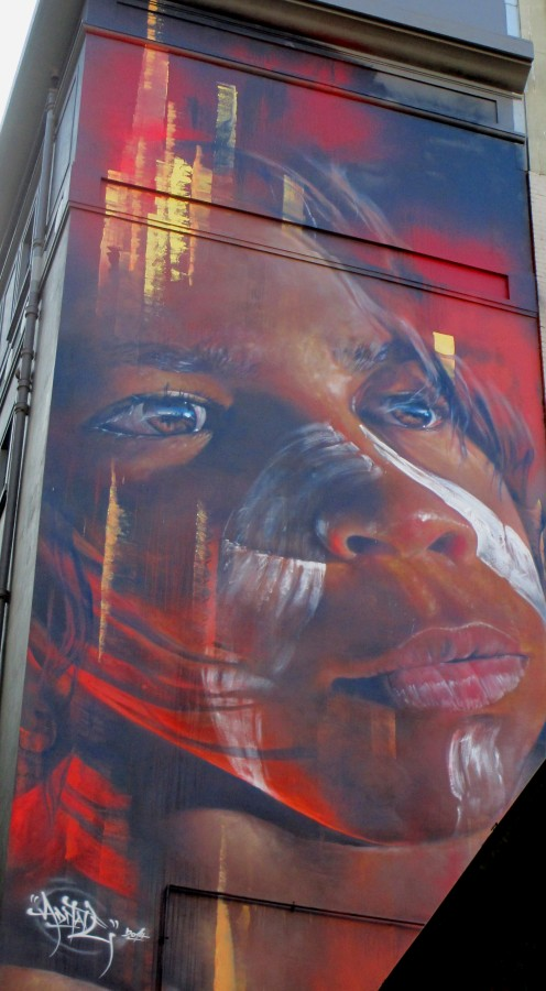 Adnate - Hosier Lane, street art, street artists, murals, Hosier Lane, Melbourne, is it art?
