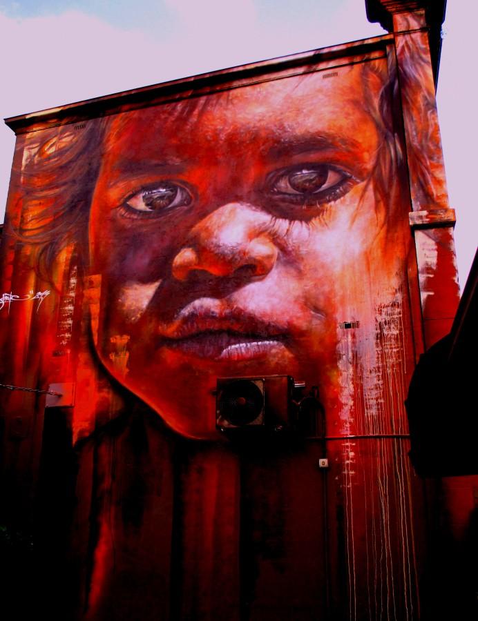 Adnate - Richmond, Adnate, Richmond, street art, street artists, Richmond, Melbourne, is it art? murals,