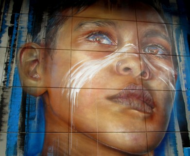 Adnate- substation street art, Melbourne, street art, street artists, Adnate, is it art?