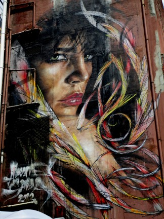 Adnate& Shida, Melbourne, street art, street artists, stencil art, is it art?