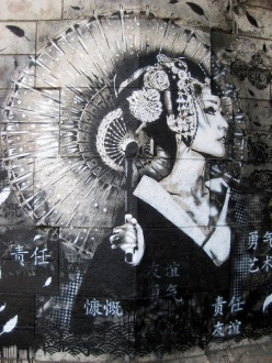 FinDac street art, FinDac, street art, street artists, stencil art, stencils, is it art?