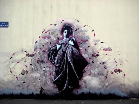 Fin Dac, street art, street artists, stencil art, is it art?
