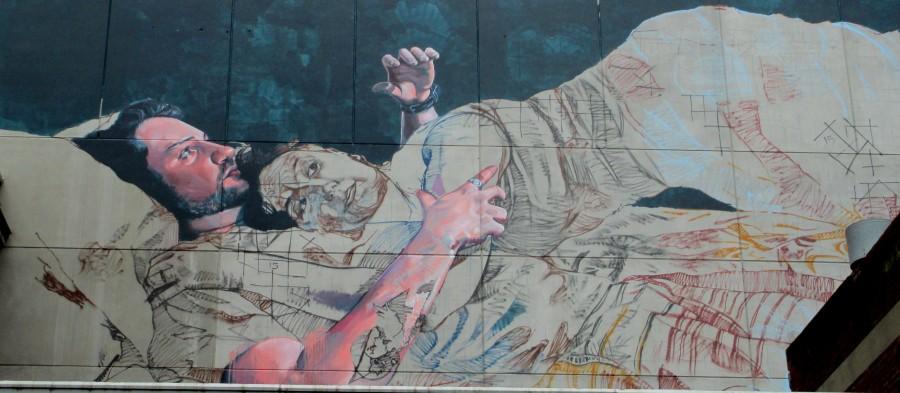FinDac sub station street artt, street artists, Melbourne, is it art?