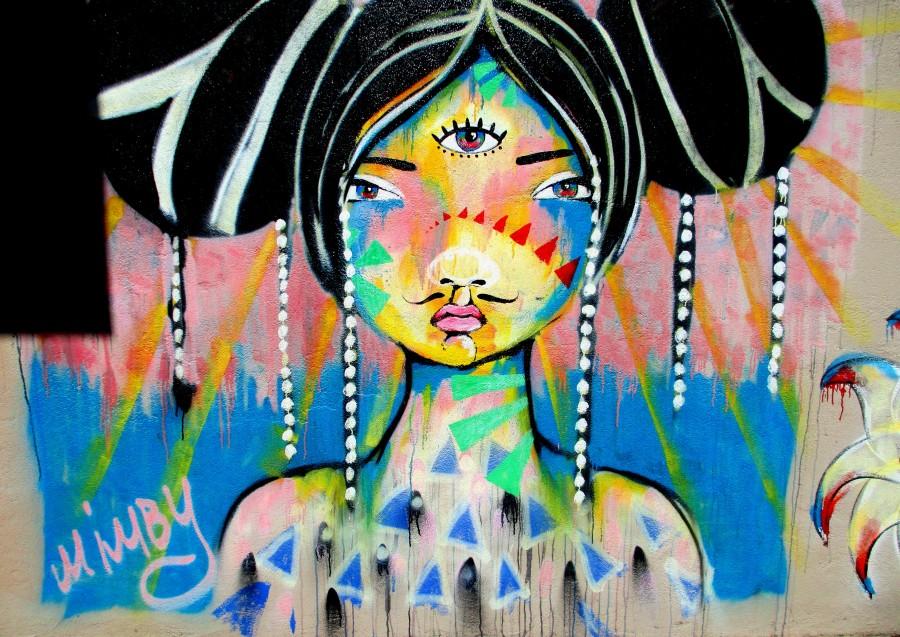 Mimby Jones Robinson, mimby, street art, street artists, is it art?