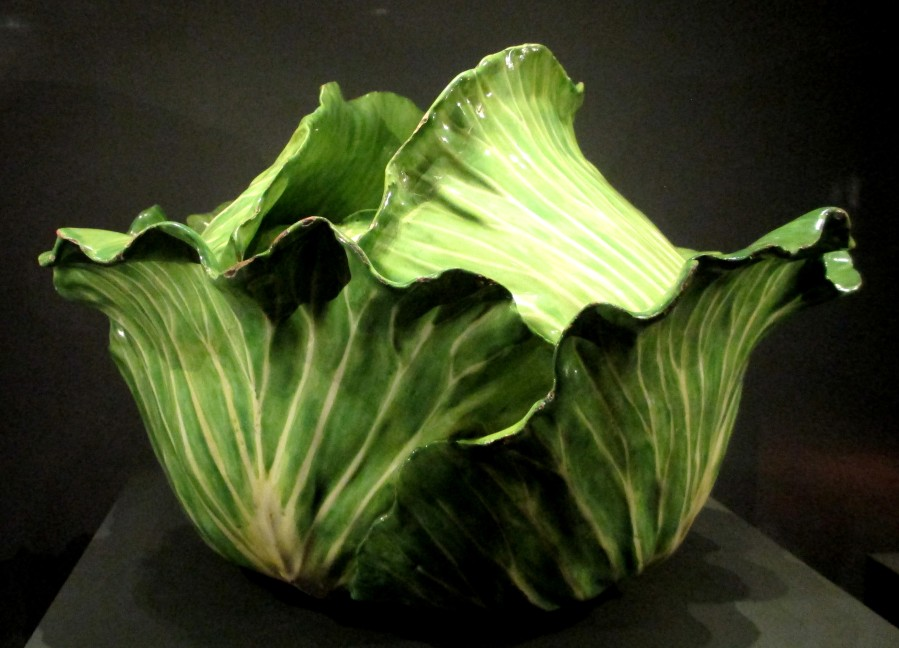 Paul Hannong Factory Strasbourg cabbage tureen1 1754-62, tureens, china, porcelain, cabbages, is it art?