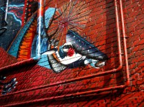 Twoone - LaTrobe Street, Twoone, street art, street artists, Australian street artists, Melbourne, is it art?