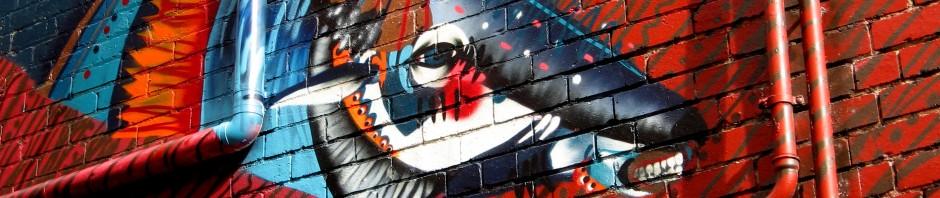 Twoone - LaTrobe Street, Twoone, street art, street artists, Australian street artists, Melbourne, is it art?