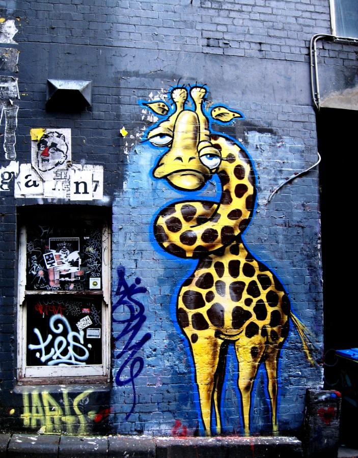 Twoone   Duckworth Place, Twoone, street art, street artists, Australian street artists, Melbourne, is it art?