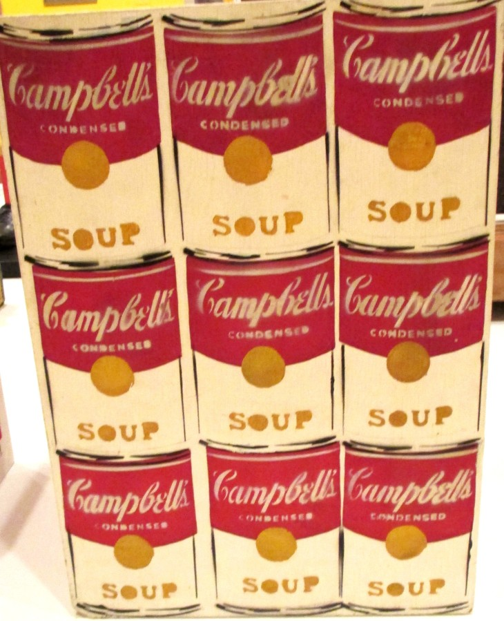 Andy Warhol- Campbell's soup BoxAndy Warhol, Soup, Campbell's Soup, pop art, is it art?