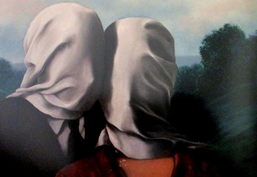 Rene Magritte - The Lovers (1928)