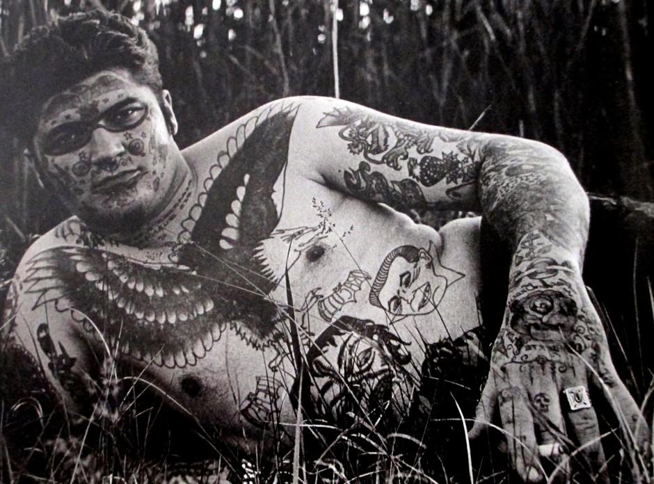 Jack Dracula - The Marked Man (Diane Arbus, Photographer)