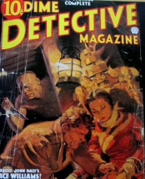 Race Williams - Dime Detective Magazine