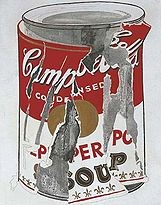 Andy Warhol - Small Torn Campbell's Soup Can (Pepper Pot) 1962