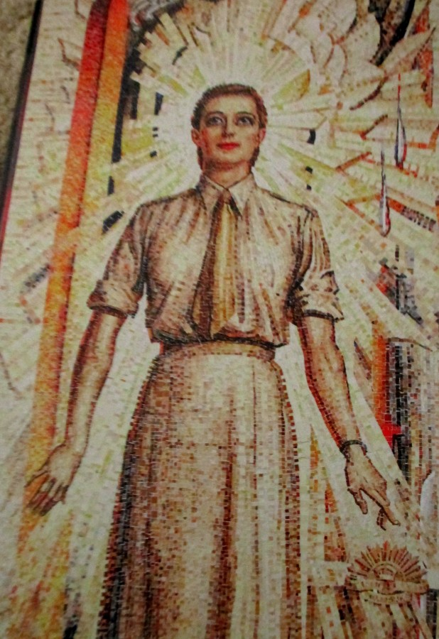 Mervyn Napier Waller mural | Hall of Memory | Australian War Memorial (Women's Services)