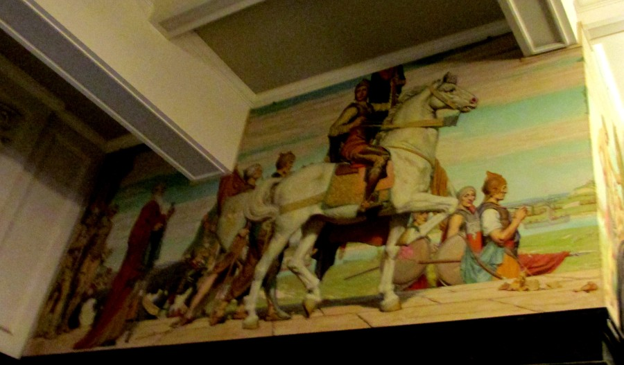 Mervyn Napier Waller Mural | State Library of Victoria