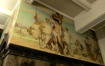 Napier Waller Mural - State Library of Victoria