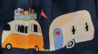 VW Combi and Caravan dress material