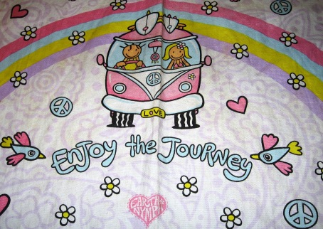 VW Combi Teatowel | Enjoy the Journey