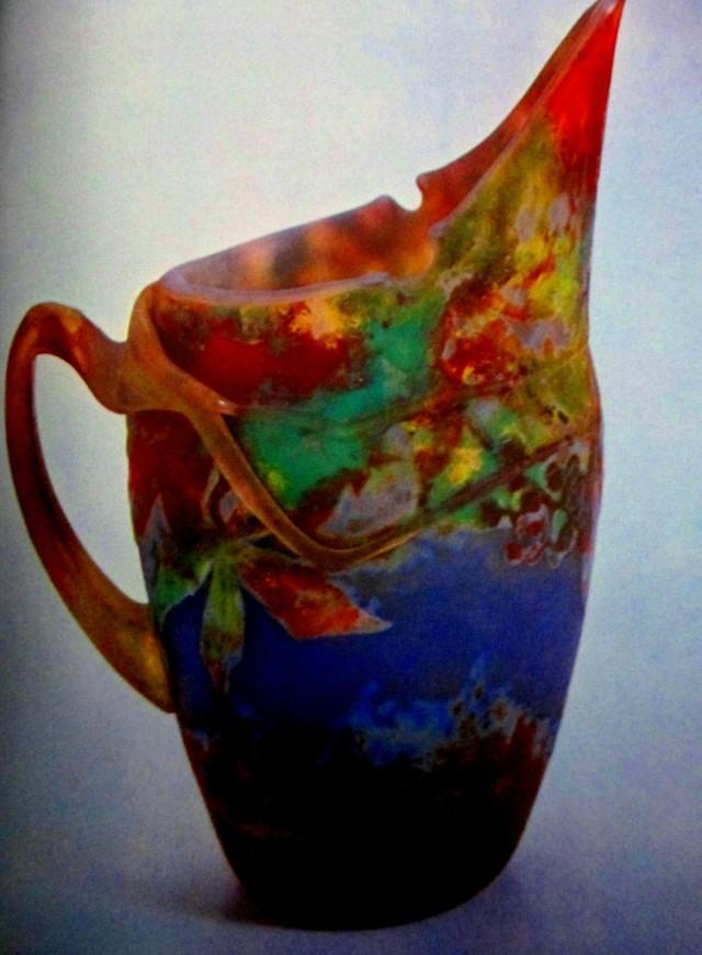 Daum Brothers | glass jug