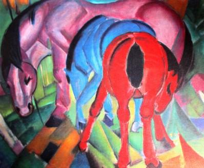 Franz Marc | 3 Horses (1912)