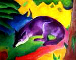 Franz Marc | Blue Fox