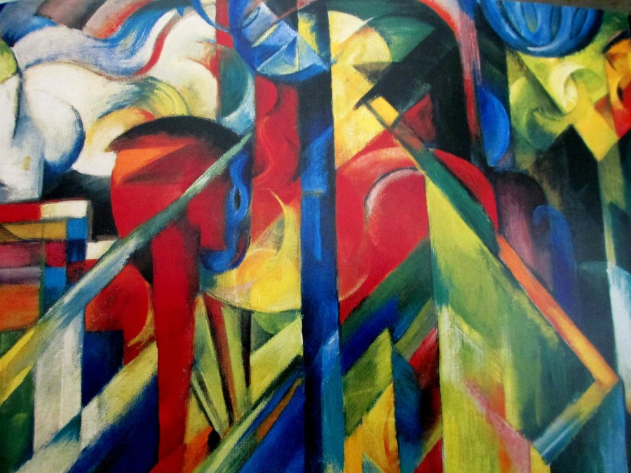 Franz Marc | Stables (1913 Guggenheim Museum NY)
