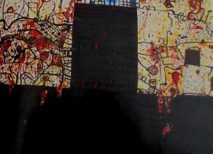 John Olsen | Spanish Black Door