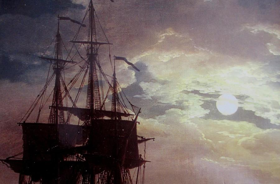 Joseph Vernet   La Nuit un port de Mer au Clair de Lune (Louvre)