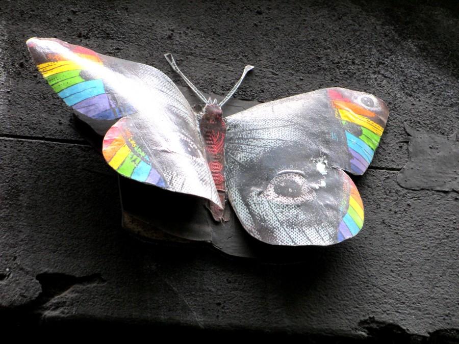 Phoenix the Street Artist | Butterfly