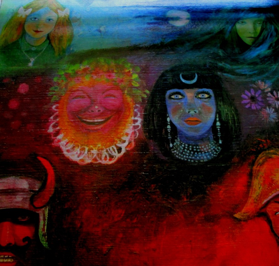 Tammo de Jongh   In the Wake of Poseidon (King Crimson LP cover)