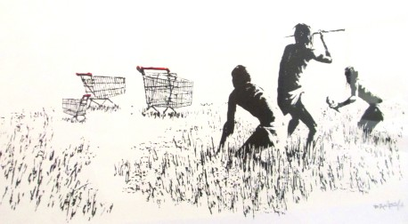Banksy | Trolley Hunters