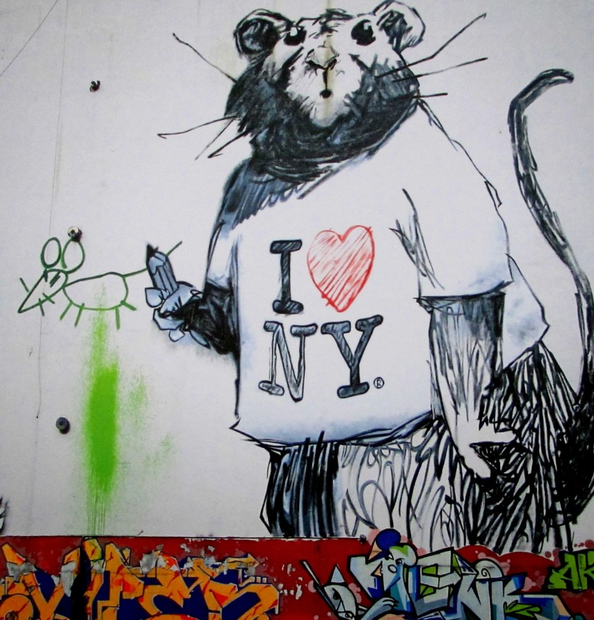 Banksy | I Love New York