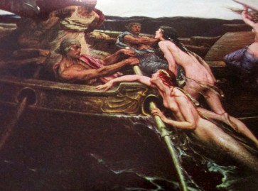 Herbert Draper | Ullysses and the Sirens (1909)