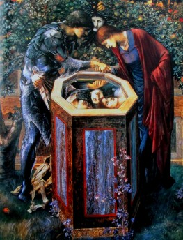 Edward Burne-Jones | The Baleful Head