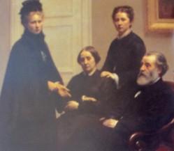 Henri Fantin-Latour | The Dubourg Family